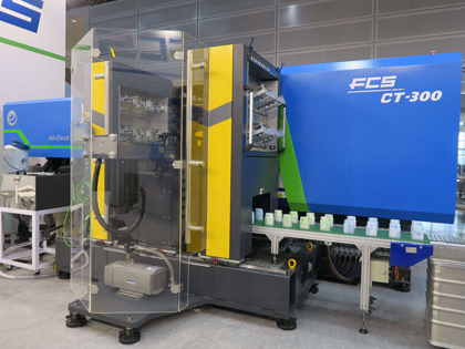 fcs ct-e all electric injection molding machine