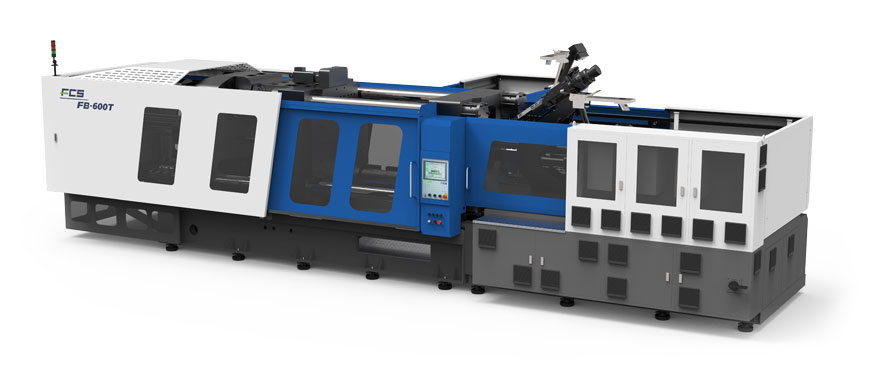 Rotary Shaft Two-Component Injection Molding Machine (FB-T Series)