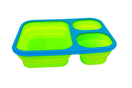 Two-color lunch box