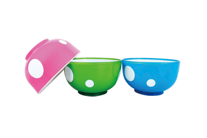 Two-color bowl